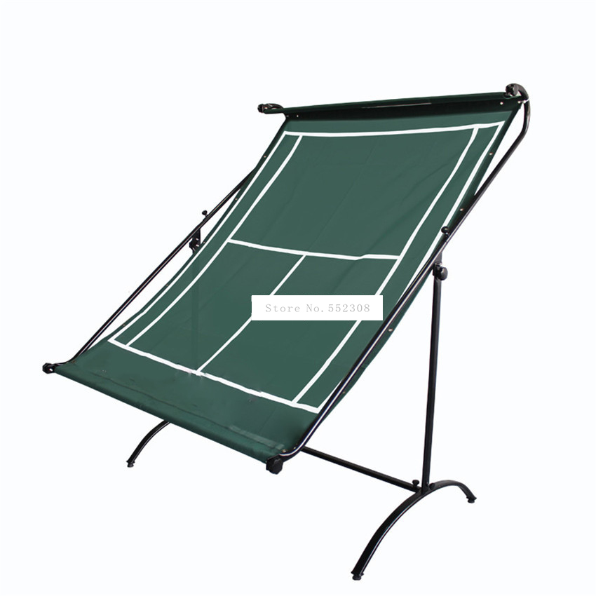 <font><b>D518</b></font> Pro Tennis Trainer Tennis Practice Rebound Net Exerciser Tennis Serving Machine Accompaniment Set Self-study Accessories image