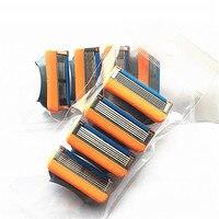 4pcs/Pack Shaving Razor Blades for Men Face Care Safety Razor Blade Mens Shaving Shaver Razor Replacement Heads 1