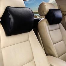 Almohada de espuma de memoria para el cuello de coche de cuatro estaciones para el reposacabezas del coche
