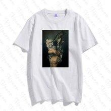 Sexy Photography Art Tshirt Women Harajuku Tumblr Punk Kawaii Skipoem Cotton Plu
