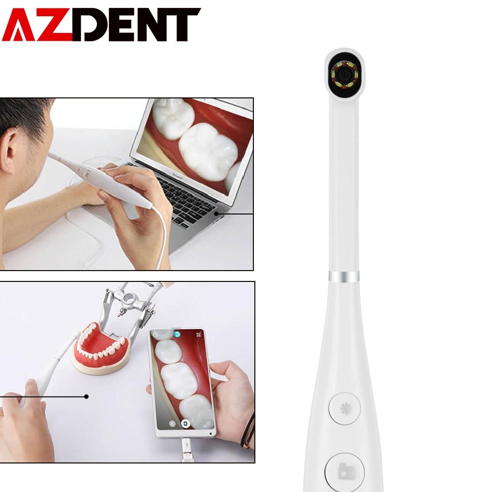 HD USB Oral Dental Camera Intraoral Endoscope Dentist Device LED Light Real-time Video Inspection De