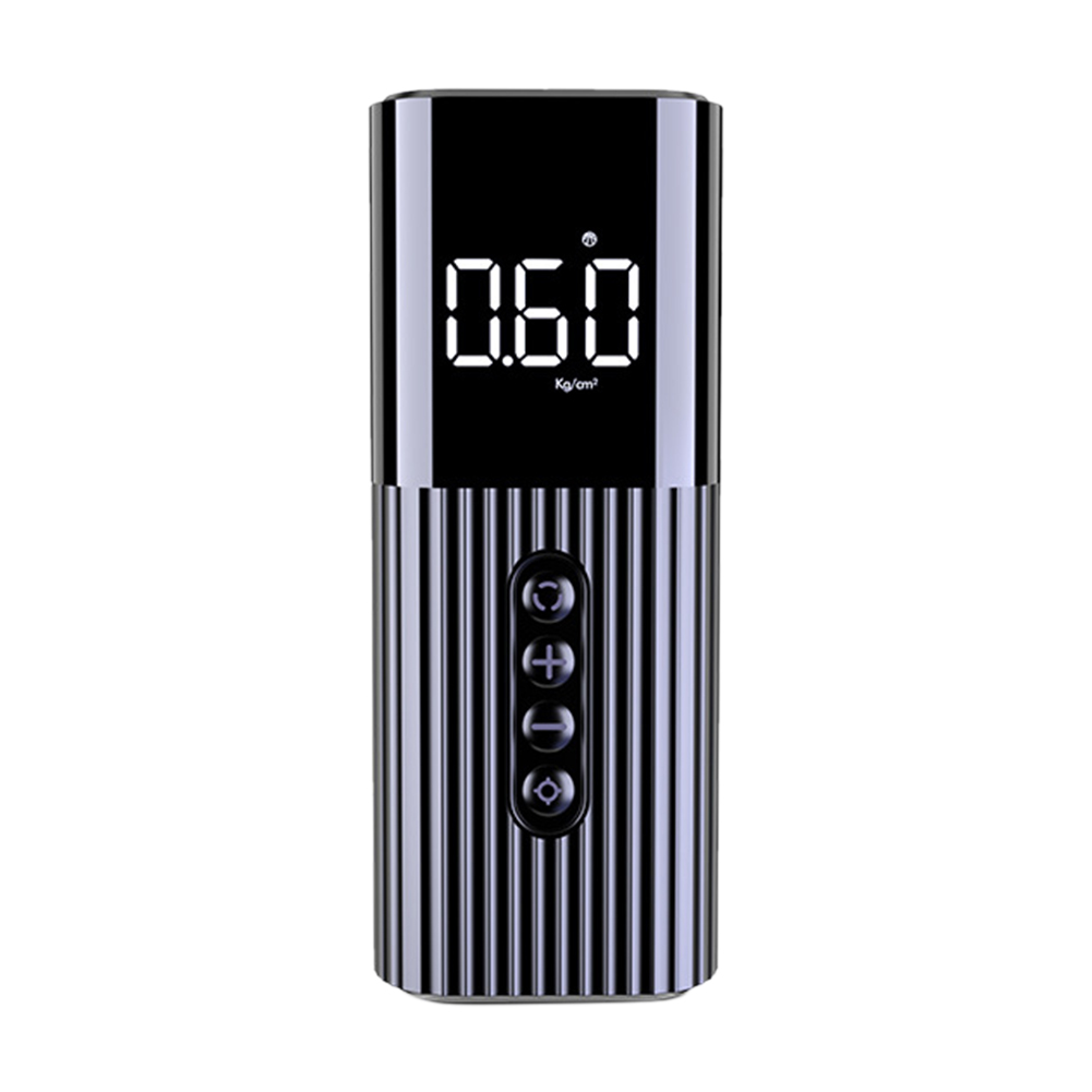 Emergency With Light Bicycles Tire Inflator LED Display Car Inflatable Pump Balls Rechargeable SUVs 12V Copper Cylinder Electric