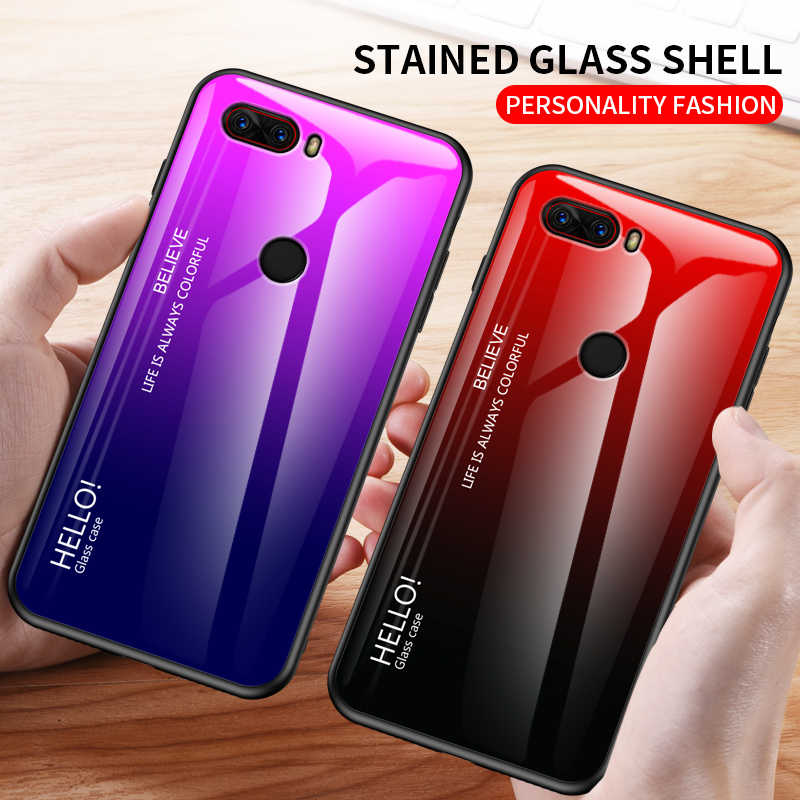 Fashion Stained Glass Telefoon Case Voor Nubia Z18 Z18mini Covers Coque Voor Nubia Z17 Mini Nubia Z17S Z17SMini Play Anti-Fall Case