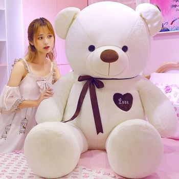 Large Teddy Bear Plush Stuffed Giant Big Soft Toys Doll Lover Birthday New Gift  Stuffed Animals Plush Doll hot new lovely giant american bear plush toy stuffed animals teddy bear doll pillow kids girls popular valentine birthday gift