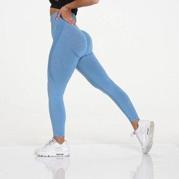 RUUHEE Seamless Legging Yoga Pants Sports Clothing Solid High Waist Full Length Workout Leggings for Fittness Yoga Leggings 17