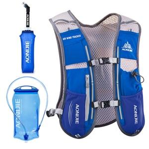 Image 1 - AONIJIE mochila para correr para hombre y mujer, chaleco de hidratación para deportes al aire libre, senderismo, carreras, Maratón, Fitness, 500 l, bolsa de ml