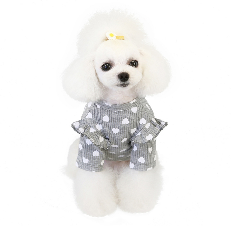 Вязаная одежда для собак Толстовка щенков кошек толстовка маленькой