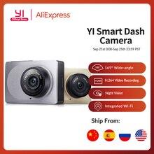 "YI Smart Dash Camera 2.7"" Screen Full HD 1080P 165 degree Wide Angle Car DVR Dash Cam with G Sensor International Night Vision"