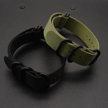купить Nato Watch Straps 20mm 22mm Premium Ballistic Nylon Watch Bands Zulu Style with Stainless Steel Buckle по цене 465.29 рублей