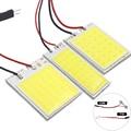 1x C5W C10W LED COB Lampe Girlande 31mm 36mm 69mm 42mm 12V Weiß 5W5 T10 w5W COB LED Licht Auto Lizenz Platte Innen Lesen lampe