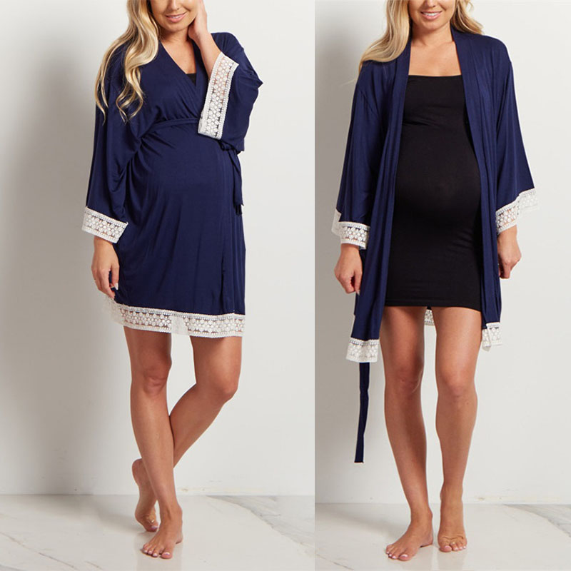 Anightsleeplover Women Maternity Nightgown Nursing Breastfeeding Sleepwear Labor and Delivery Gown