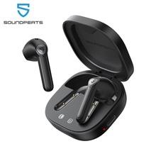 Soundpeats TrueAir2 Draadloze Oordopjes Bluetooth V5 2 Headset QCC3040 Aptx 4 Mic Cvc Ruisonderdrukking Tws + Draadloze Koptelefoon cheap In-Ear RoHS Dynamische Cn (Oorsprong) Echte Draadloze 106dB voor video game gemeenschappelijke hoofdtelefoon voor mobiele telefoon