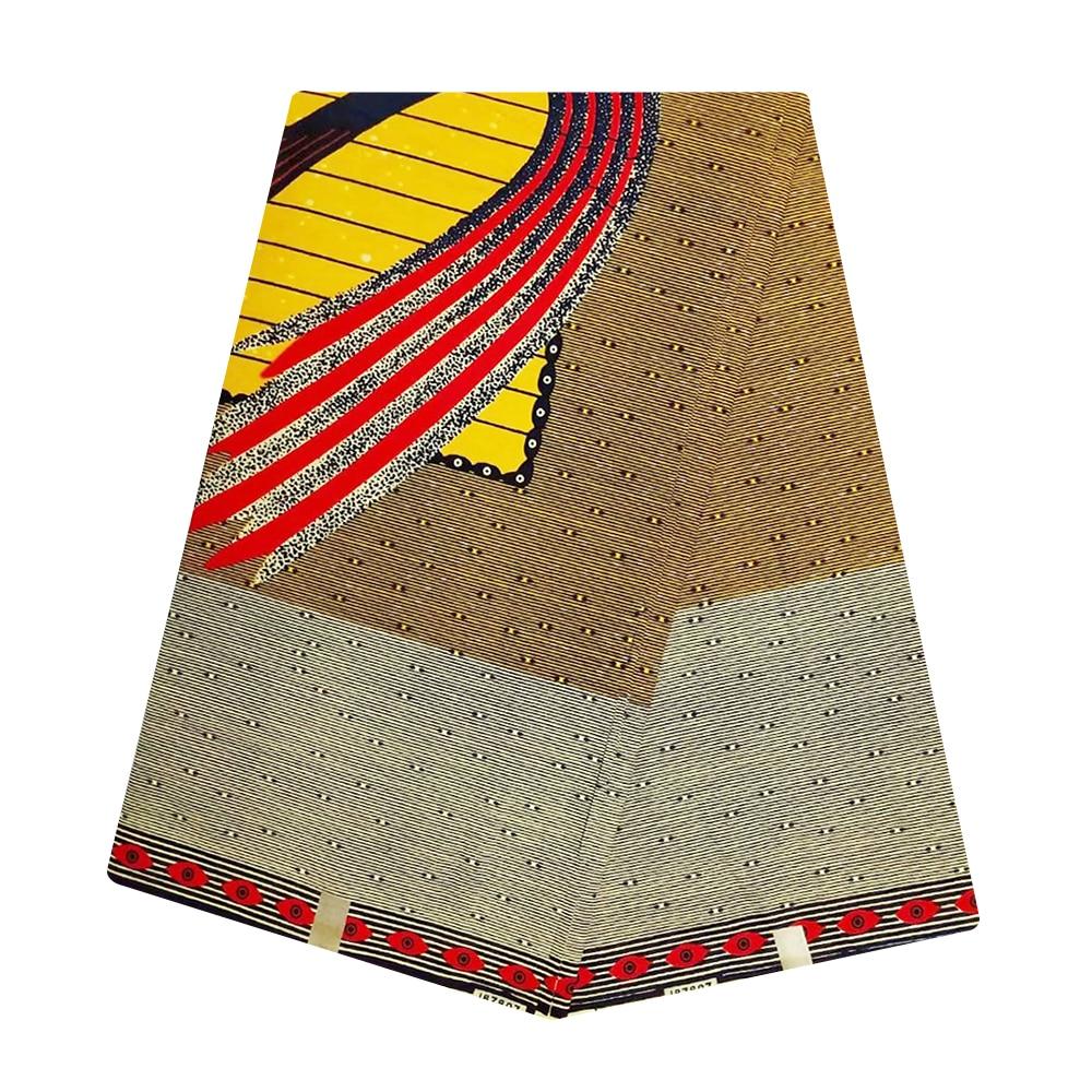 Tulle African Real Hollandais High Quality Dutch Wax Netherlands Ankara Fabric Ghana Veritable Print Pange Wax 6 Yards For Dress