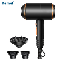 Hair-Drying-Machine Electric-Hair-Dryer Professional Kemei Blower Strong with Overheat-Protection-System