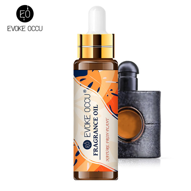 Black Opium Coconut Vanilla Fragrance Oil 10ML with Dropper Perfume Diffuser Essential Oil Angel Jadore Musk Chocolate Milk Oil 1