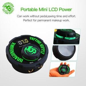 Image 4 - קעקוע רוטרי מכונת עט סגנון סט קעקוע ערכת LCD דוושת כוח קעקוע אספקת משלוח חינם איפור קבוע מכונת מבחר