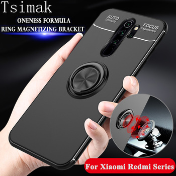 Case For Xiaomi Redmi Note 9 8 7 6 5 Pro K20 K30 4X 4A 5A 6A 7A 8A 8T 9S A2 Lite Max Phone Cover Silicone Shockproof Back Coque image