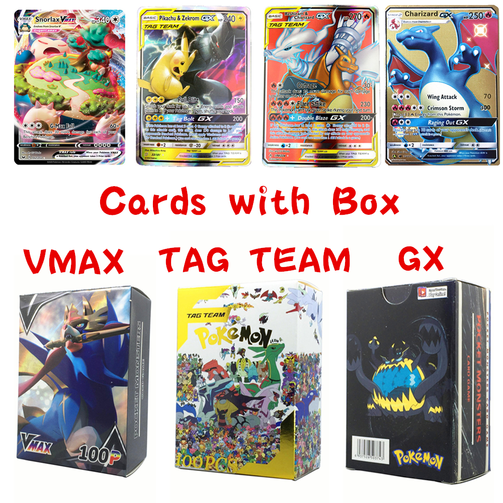 2020 New Pokemon Vmax Cards Ex Gx Mega Shining Pokemones Card English Battle Carte Charizard Mewtwo Album Book Kids Toy Gifts