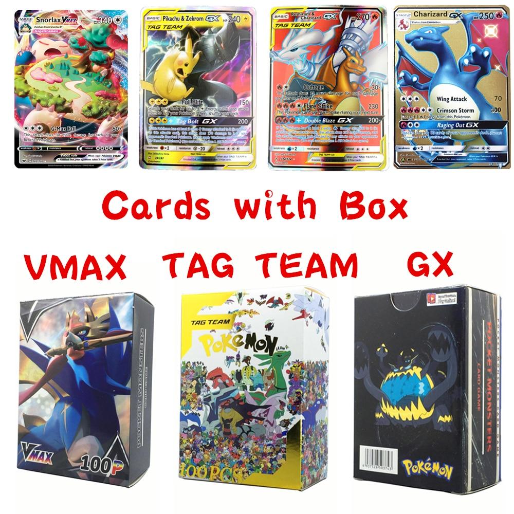 2020 New Pokemon Vmax Cards Ex Gx Mega Shining Pokemones Card English Battle Carte Charizard Mewtwo Album Book Kids Toy Gifts