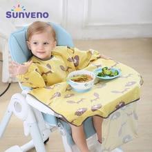 Long Sleeve Baby Bib Kids Burp Cloth Feeding Bib Child Apron Smock Baby Accessories