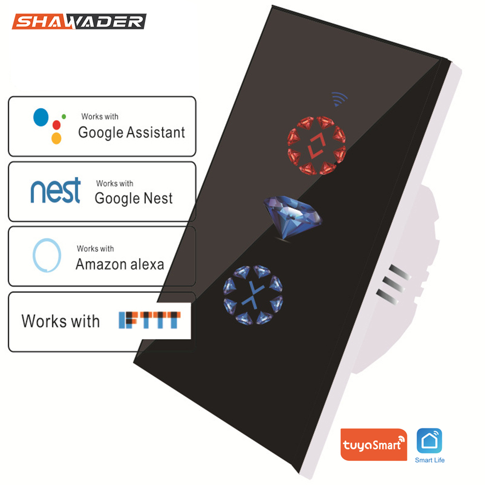 WiFi Smart Curtain Switch Tuya Remote Control for Garage Electric Doors Rolling Shutters work with Alexa Google Home Nest IFTTT(China)
