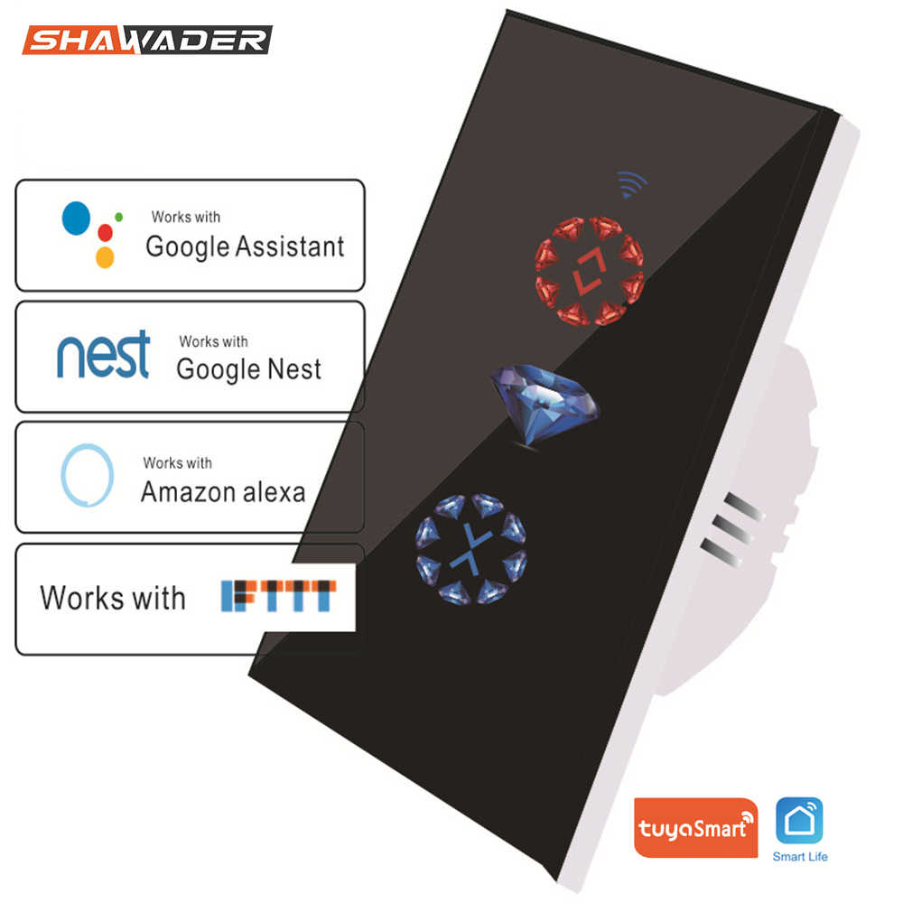 Wifi スマートカーテンスイッチチュウヤガレージの電動ドアローリングシャッター alexa google ホーム巣 ifttt で動作