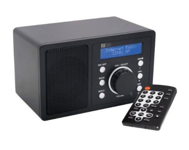 Ocean Digital WiFi Internet Radio WR200 Wlan Receiver Tuner Music Media Player Wireless Connection Desktop Music