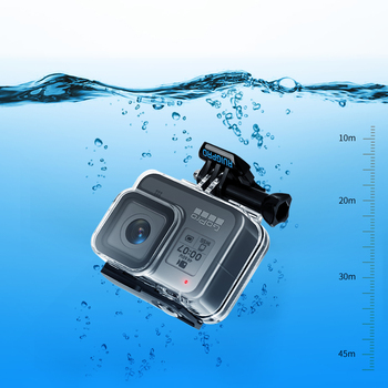 45m Underwater Waterproof Case Housing For Gopro Hero 8 Action Camera Go Pro 8 Black accessories Protective Case Accessory 1