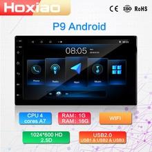 """Android 2 Rádio Do Carro um din Player multimídia incorporado com Tela de Toque FM DAB GPS BT WIFI NÃO DVD 7"""" HD Car Audio Navegação 2DIN"""