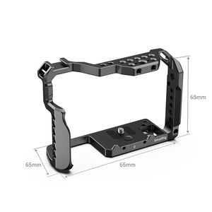 Image 3 - SmallRig DSLR gh5 Camera Cage For Panasonic gh5 / For Lumix gh5s With Cold Shoe Mount 1/4 3/8 Thread Holes and Nato Rail 2646
