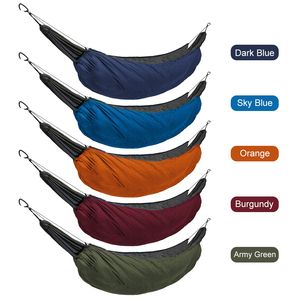 Image 4 - Rede portátil saco de dormir underquilt hammock térmica sob cobertura de isolamento de rede acessório para acampamento