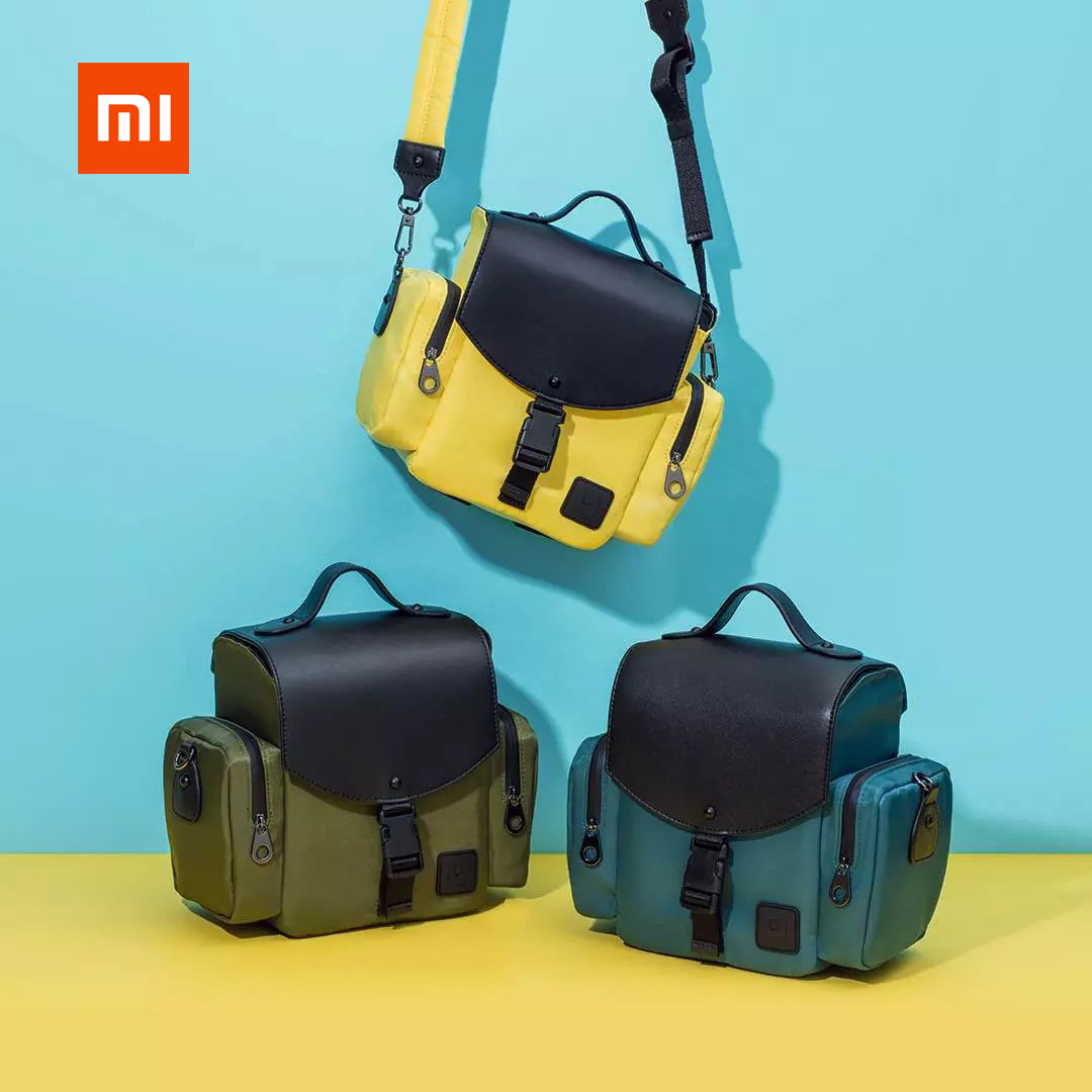 Original xiaomi UREVO camera bag case backpack business luggage travel shoulder bag waterproof for Xiaomi mi home image