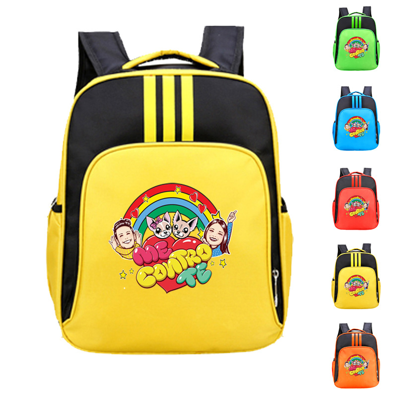 Boys New Children's School Bag 2020 Fashionable Cartoon Me Contro Te Backpacks For Primary School Students Kids Oxford Bookbag
