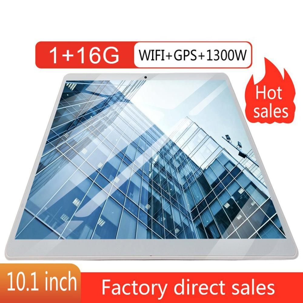 10.1 Inch Tablet Computer Ips Hd Screen Wireless WiFi Memory 1+16GB GPS Android System Gps Android Tablet