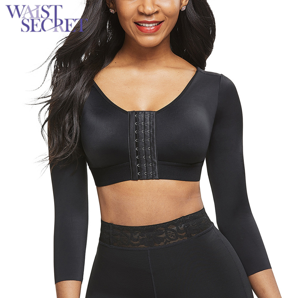 Elbow Sleeve Shaping Top Spanx Womens On Top and in Control