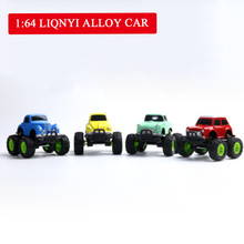 Hot-selling Q-version Alloy Inertia Toy Car Cartoon Skid-proof Cute Baby Mini- Model Cross-country Toys for Children