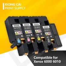 4pcs Compatibile Per Xerox Phaser 6000 6010 Workcentre 6015 Cartuccia di Toner Per 106r0163 0/1627/1628/1629 106r0163 4/1631/1632/1633