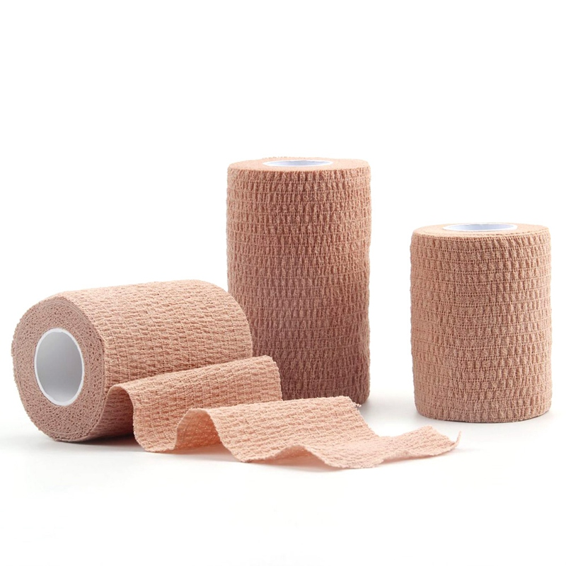 Self Adhesive Bandage Sports Elastoplast Elastic Bandage Self Adhesive Wrap Tape Ankle Knee Arthrosis Protector