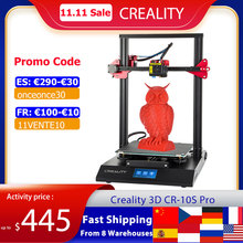 CREALITY CR 10S Pro Upgraded Auto Leveling 3D Printer DIY Self assembly Kit 300*300*400mm Large Print Size