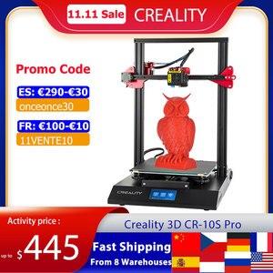 Image 1 - CREALITY CR 10S برو ترقية السيارات التسوية طابعة ثلاثية الأبعاد لتقوم بها بنفسك الذاتي الجمعية عدة 300*300*400 مللي متر حجم كبير الطباعة