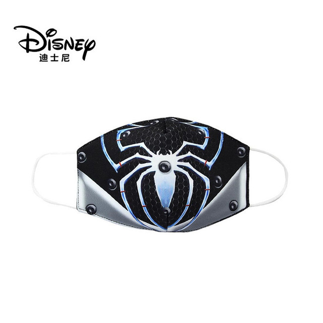 Disney Marvel Spiderman Children's Face Maks Marvel Frozen Cotton Anti-Dust Protective Maks for boys girls toys 3