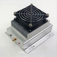 UHF 400-470MHZ 433MHZ 50W amatör radyo güç amplifikatörü interkom + soğutucu + Fan