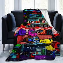 Ultra Soft Sofa Blanket Cover Blanket Cartoon Cartoon Bedding Flannel plied Sofa Bedroom Decor for Children and Adults 34