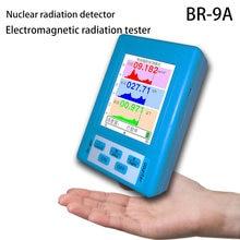Handheld Geiger Counter Series Radio Detector Marble Tester Radiation Dosimeter Electromotive Force Meter LCD Digital Display