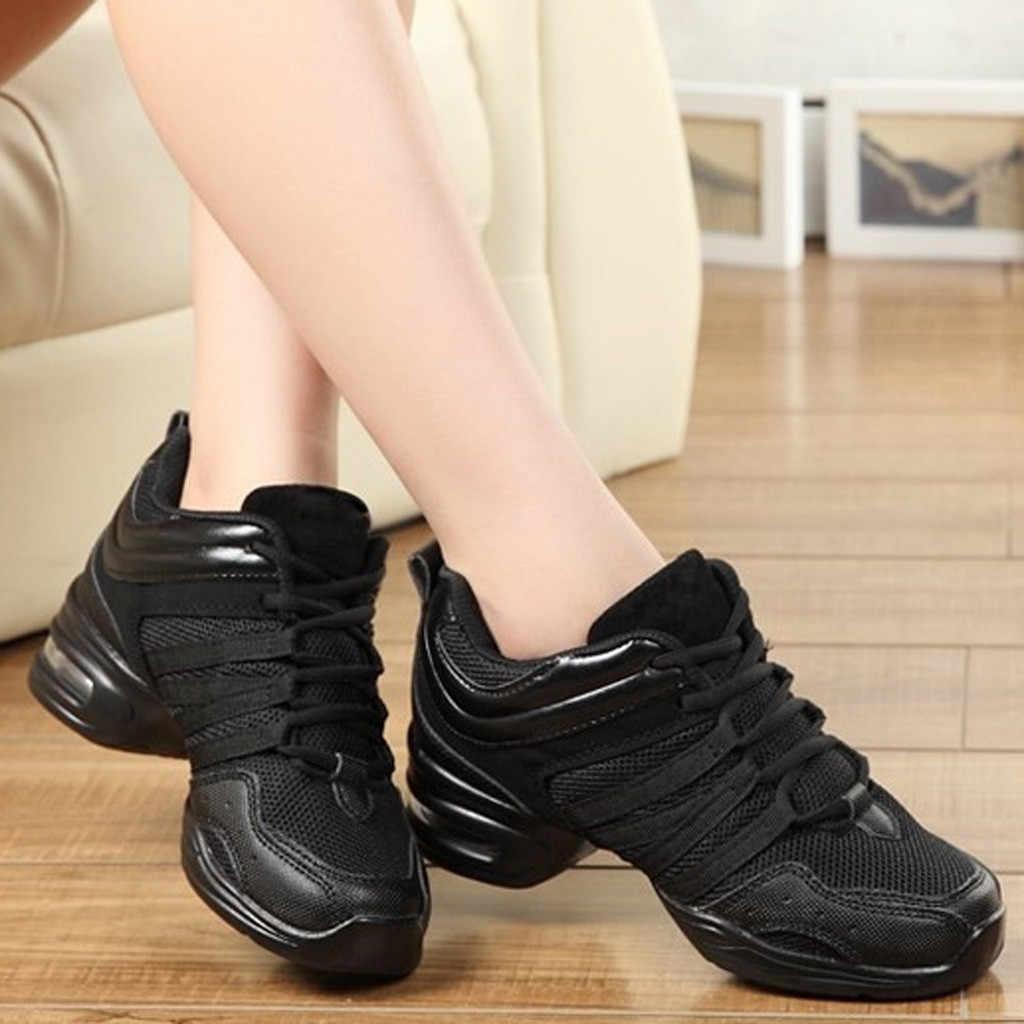 Scarpe Da ballo Per Le Donne di Sport Funzione di Danza Moderna Jazz Scarpe Morbida Suola Breath Ballo Scarpe Femminili Pratica Scarpe Da Ginnastica sapato
