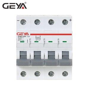 Image 3 - GEYA MCB DC 1000V MCB Mini Circuit Breaker DC 6A 10A 16A 20A 25A 32A 40A 50A 63A 4 Poles IEC60947