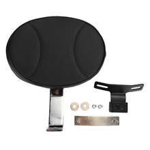 Купить Motorcycle Passenger Backrest Pad Black Sissy Bar Cushion For Harley Dyna Fatboy Heritage Softail models Electra Road Glide D45 в интернет-магазине дешево