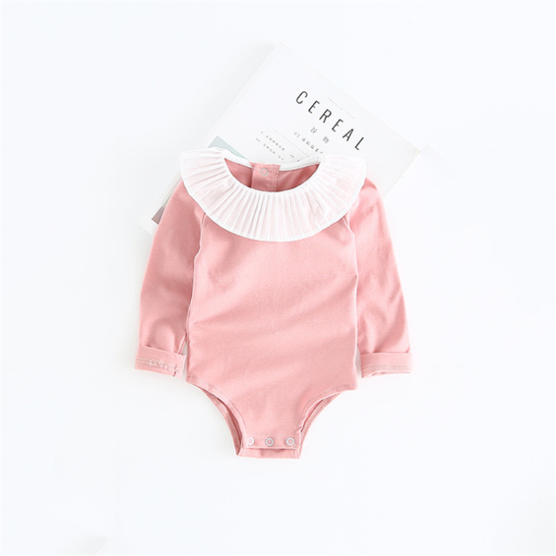 Baby Girl Romper 0 2Y Autumn Winter Newborn Baby Clothes For Girls Long Sleeve Kids Boys