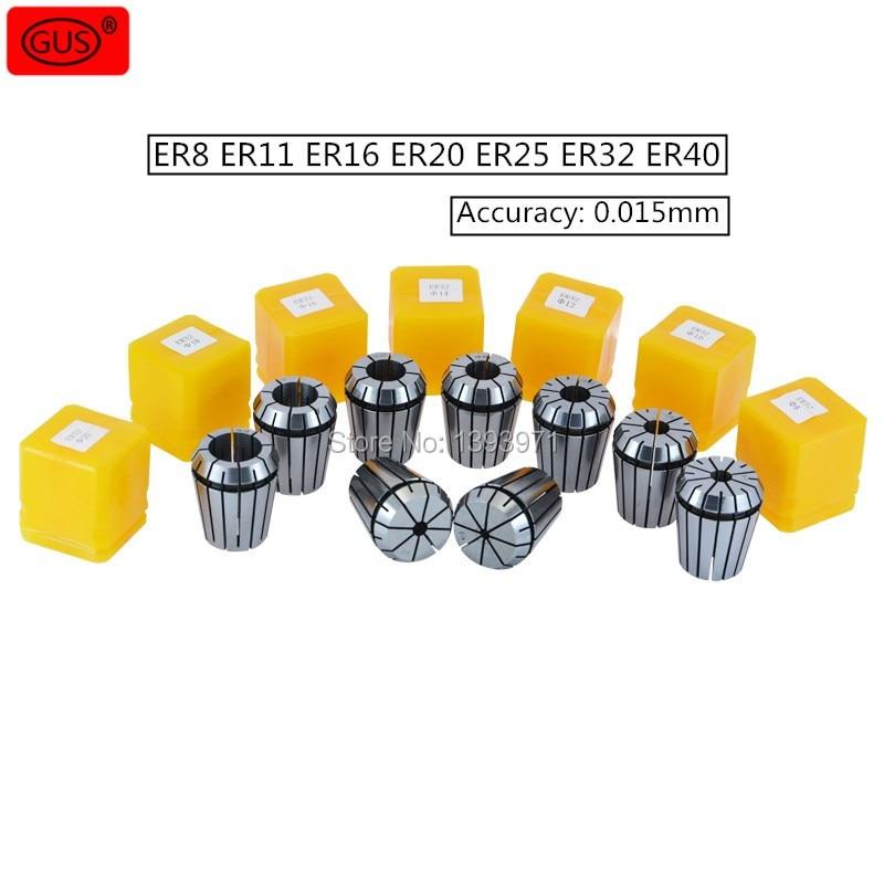 Spring collet ER Collet chuck CNC Cilling Lathe 2,4,6,8,10,12,16 7pcs ER25