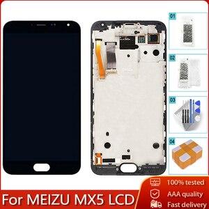 """Image 1 - 5,5 """"AMOLED для MEIZU MX5 M575M M575H ЖК дисплей кодирующий преобразователь сенсорного экрана в сборе запасная часть 100% протестированные Бесплатные инструменты"""